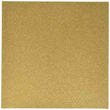 glitter cardstock 12 inch by 12 inch gold