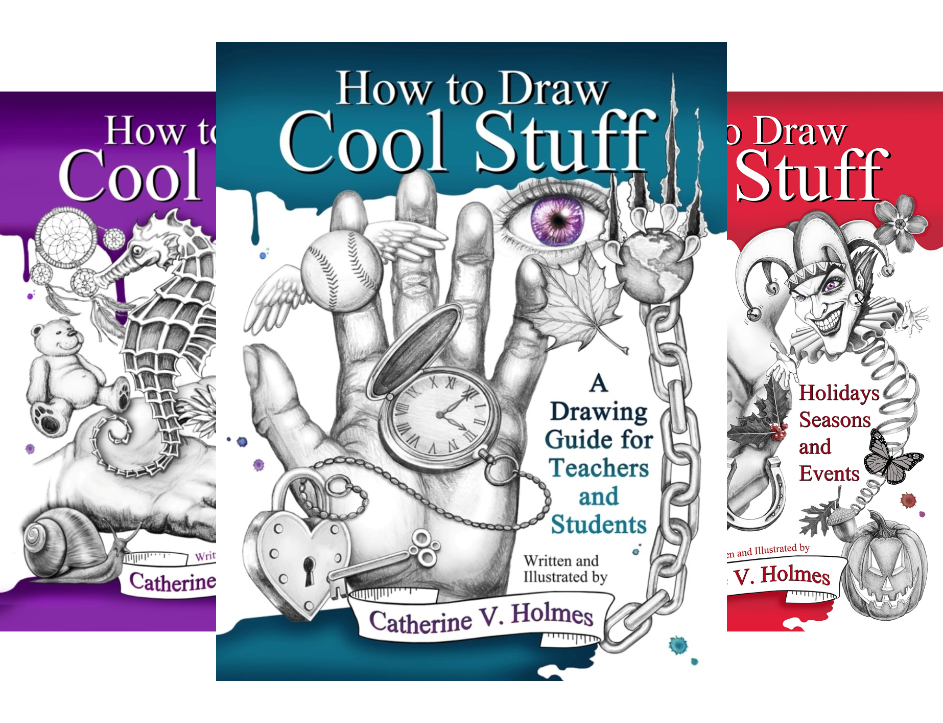 How to Draw Cool Stuff (3 Book Series)