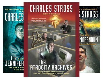 Laundry Files by Charles Stross
