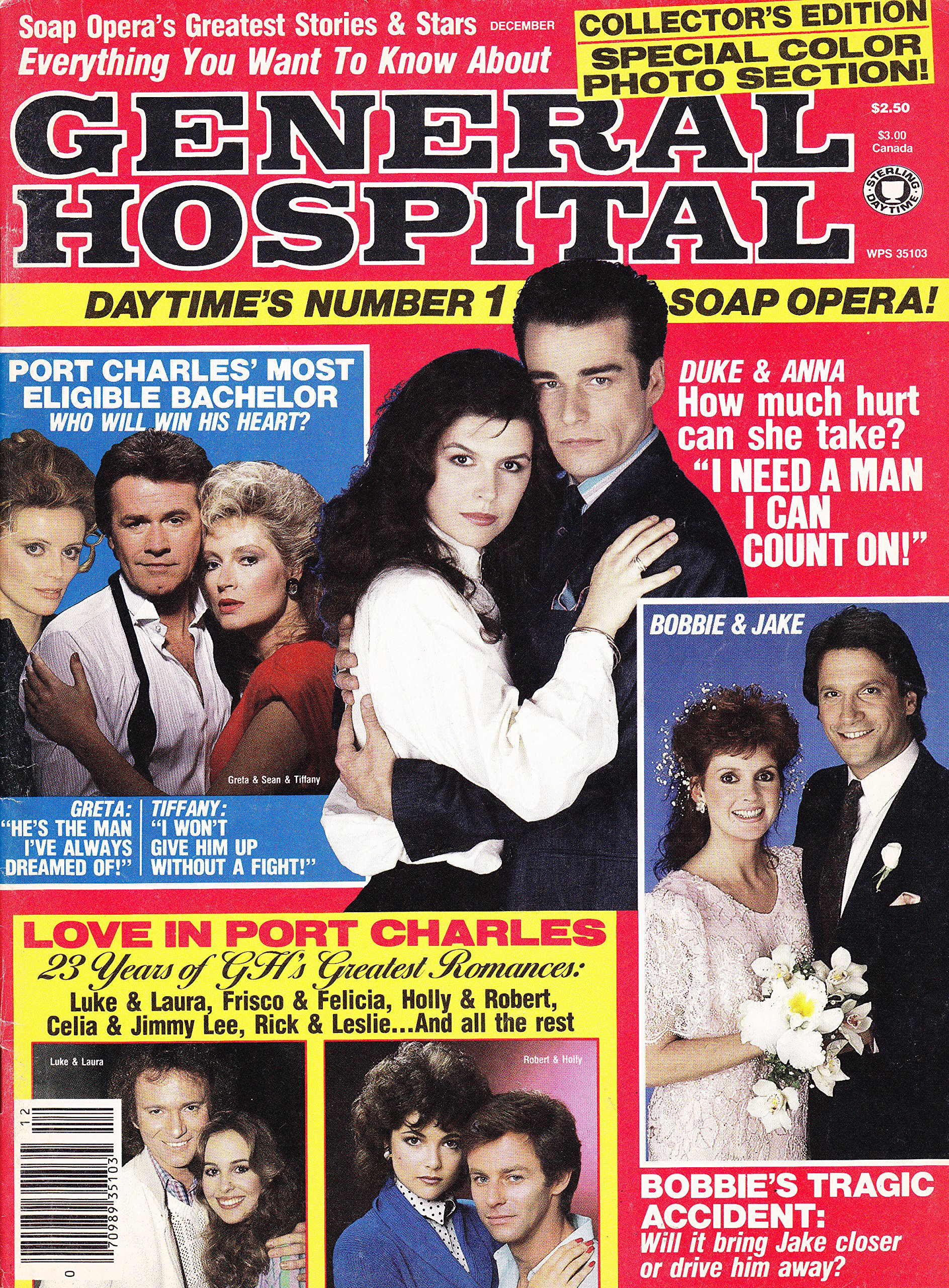 Ian Buchanan And Finola Hughes Tristan Rogers Shaun Cassidy December 1987 Everything You Want To Know About General Hospital Magazine Collector S Edition Mimi Torchin Amazon Com Books