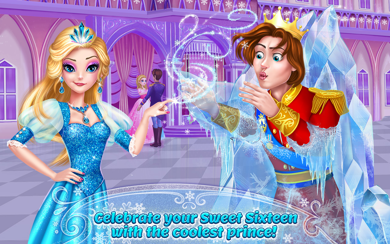 Amazon.com: Ice Princess - Frosty Sweet Sixteen: Appstore for Android