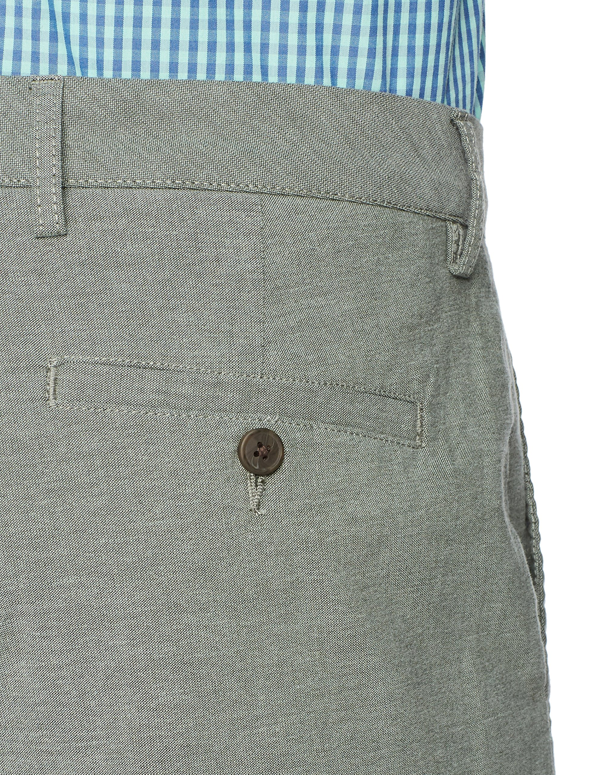 Goodthreads Men's 9'' Inseam Lightweight Oxford Short, Olive, 32 by Goodthreads (Image #5)
