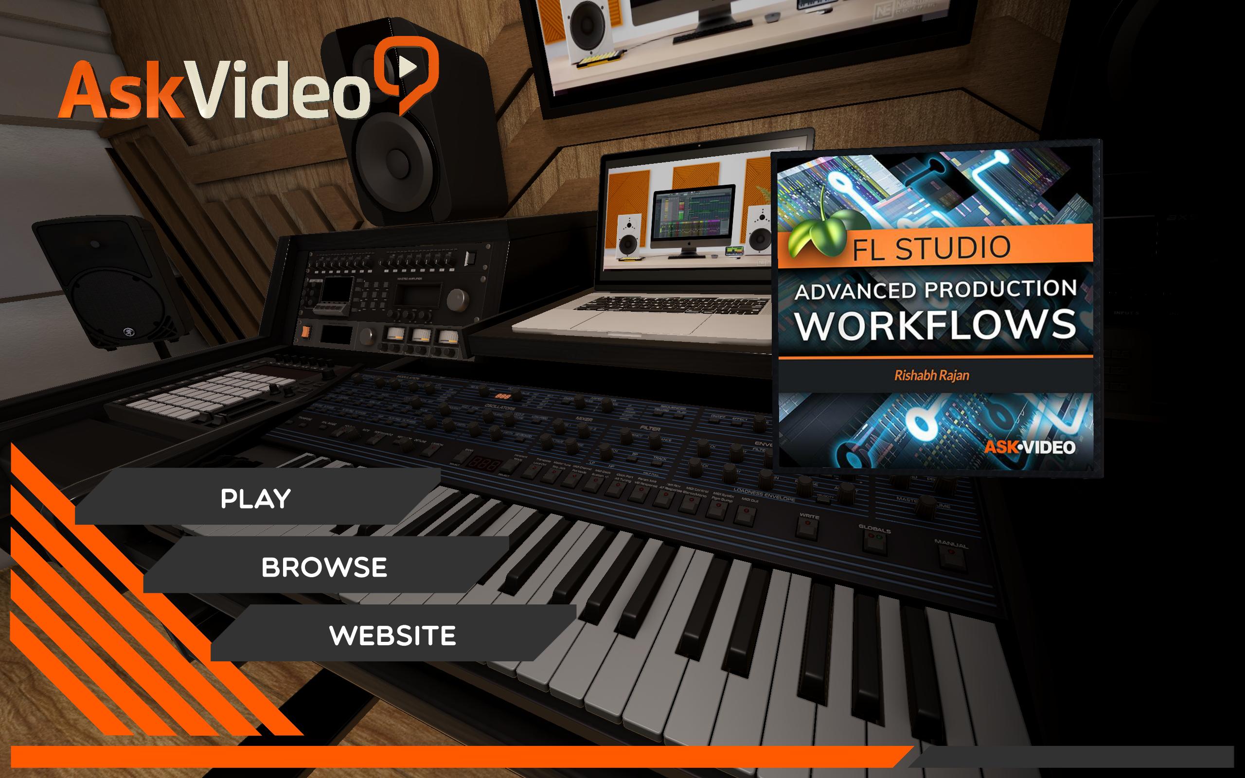 Adv. Production Workflows Course For FL Studio: Amazon.es ...