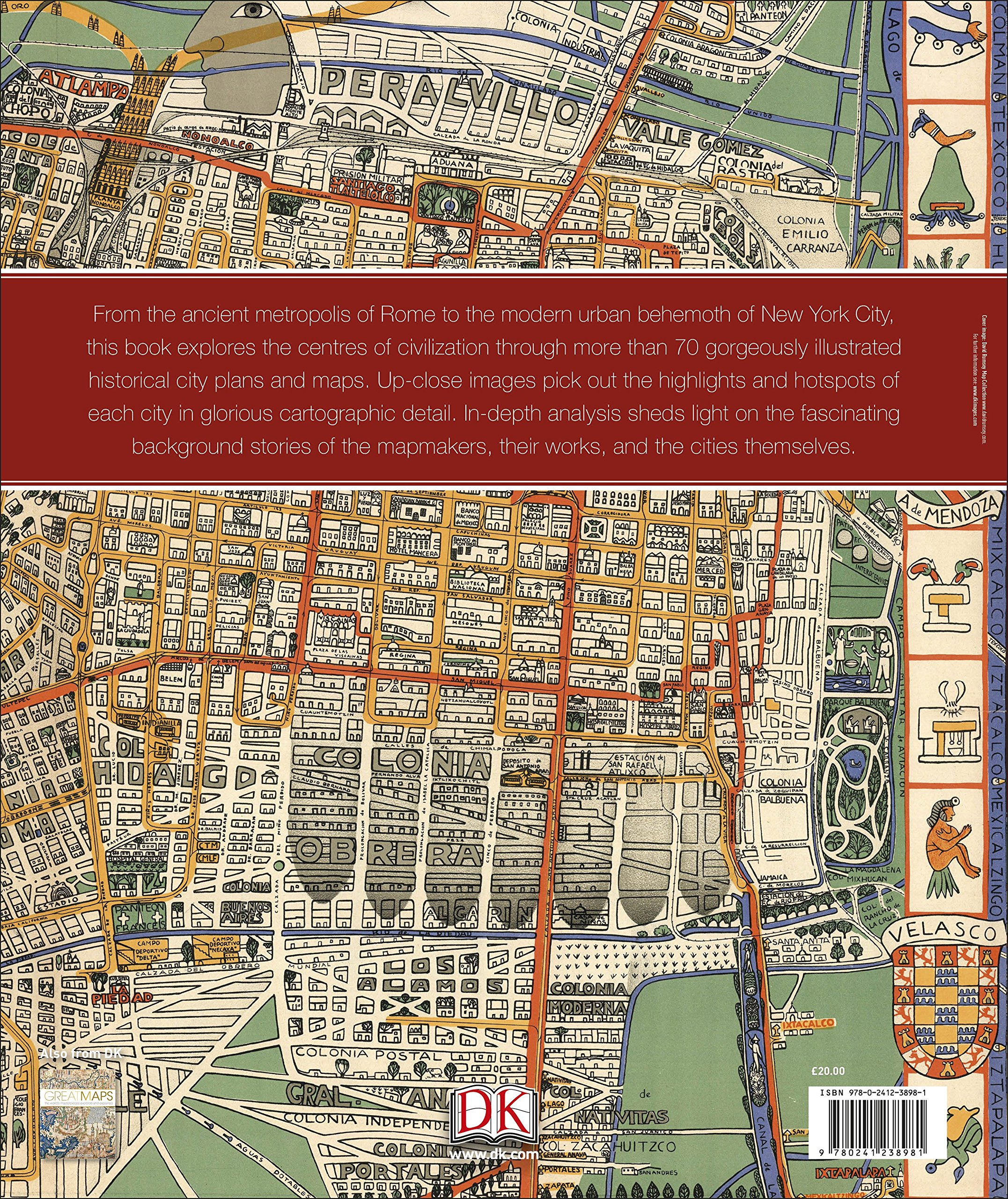 Buy Great City Maps A historical journey through maps plans and