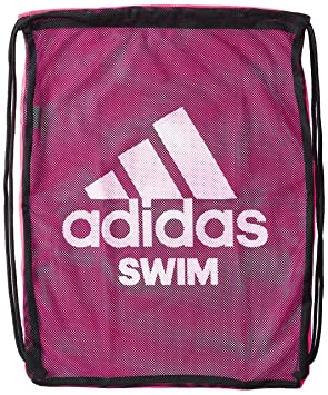 Adidas Swim Mesh Bag Black   Shock Pink  Amazon.co.uk  Sports   Outdoors 9d66de294550e