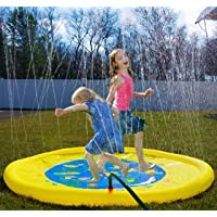 Deals on Splashin kids 68 Inch Sprinkle and Splash Play Mat toy