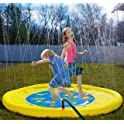 "Splashin'kids 68"" Sprinkle and Splash Play Mat Toy"