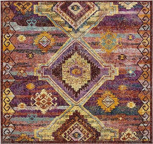 Safavieh Savannah Collection Premium Wool Square Area Rug