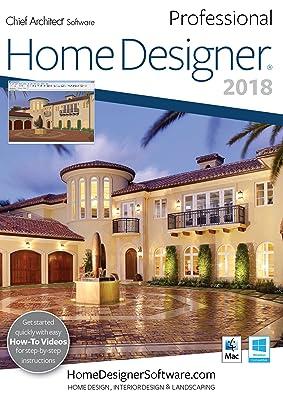 Chief Architect Home Designer Pro 2018 - DVD/Key Card