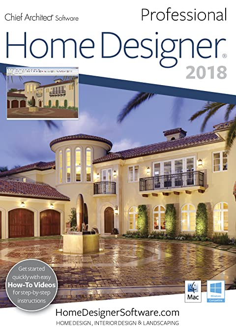 Amazon.Com: Home Designer Pro 2018 - Mac Download [Download]: Software