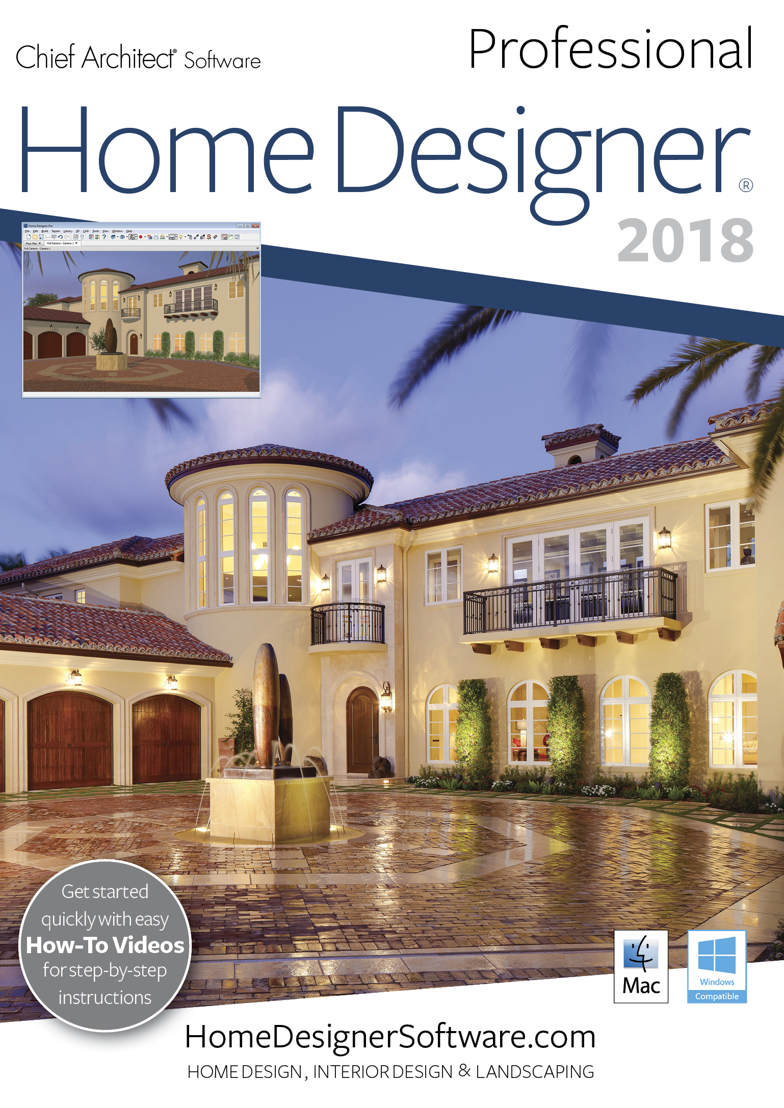 Home Designer Pro 2018 - Mac Download [Download]