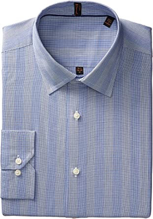 Ben Sherman - Camisa de vestir para hombre - Azul - 39 cm Cuello 81 cm- 84 cm Manga: Amazon.es: Ropa y accesorios