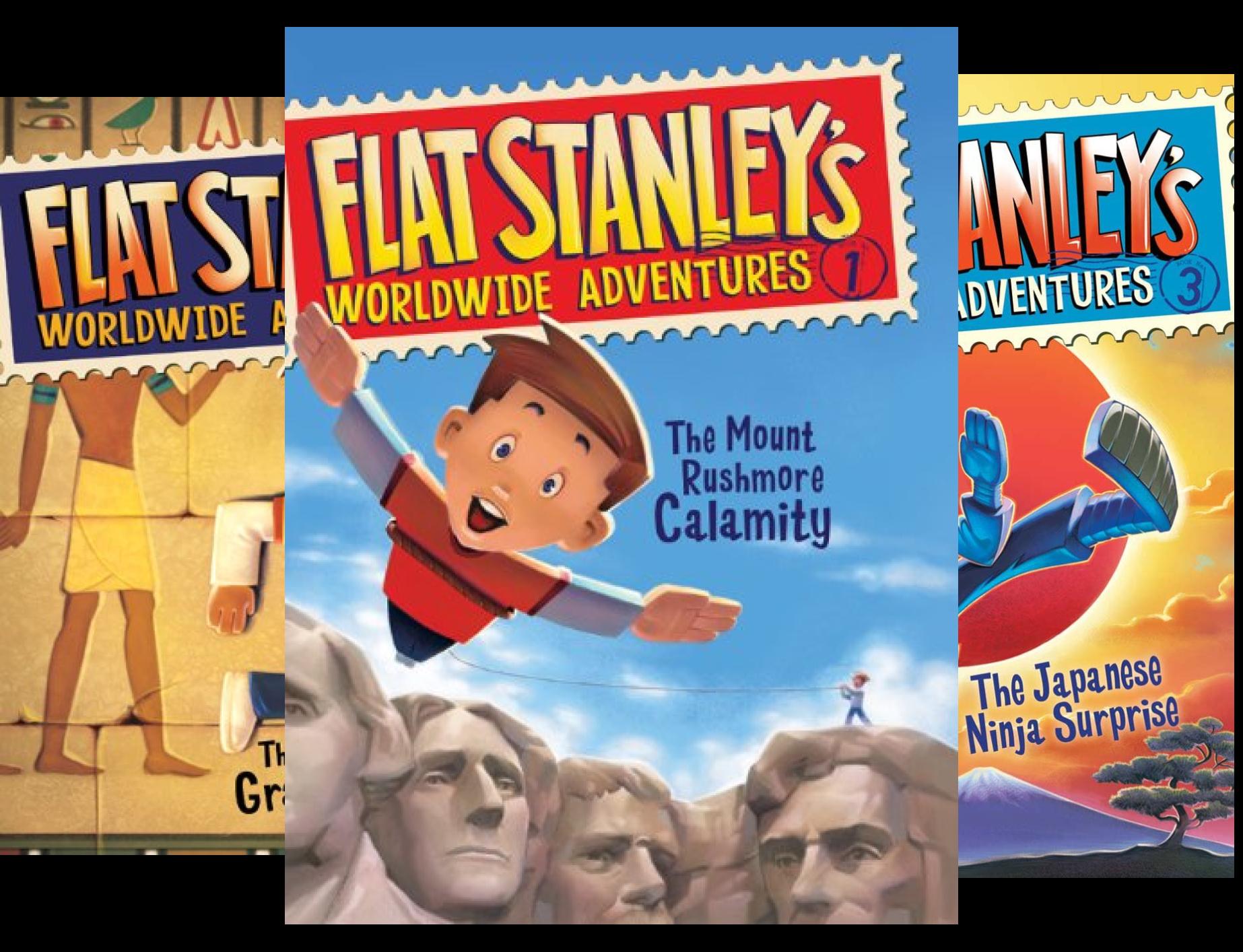 Flat Stanley's Worldwide Adventures (14 Book Series)