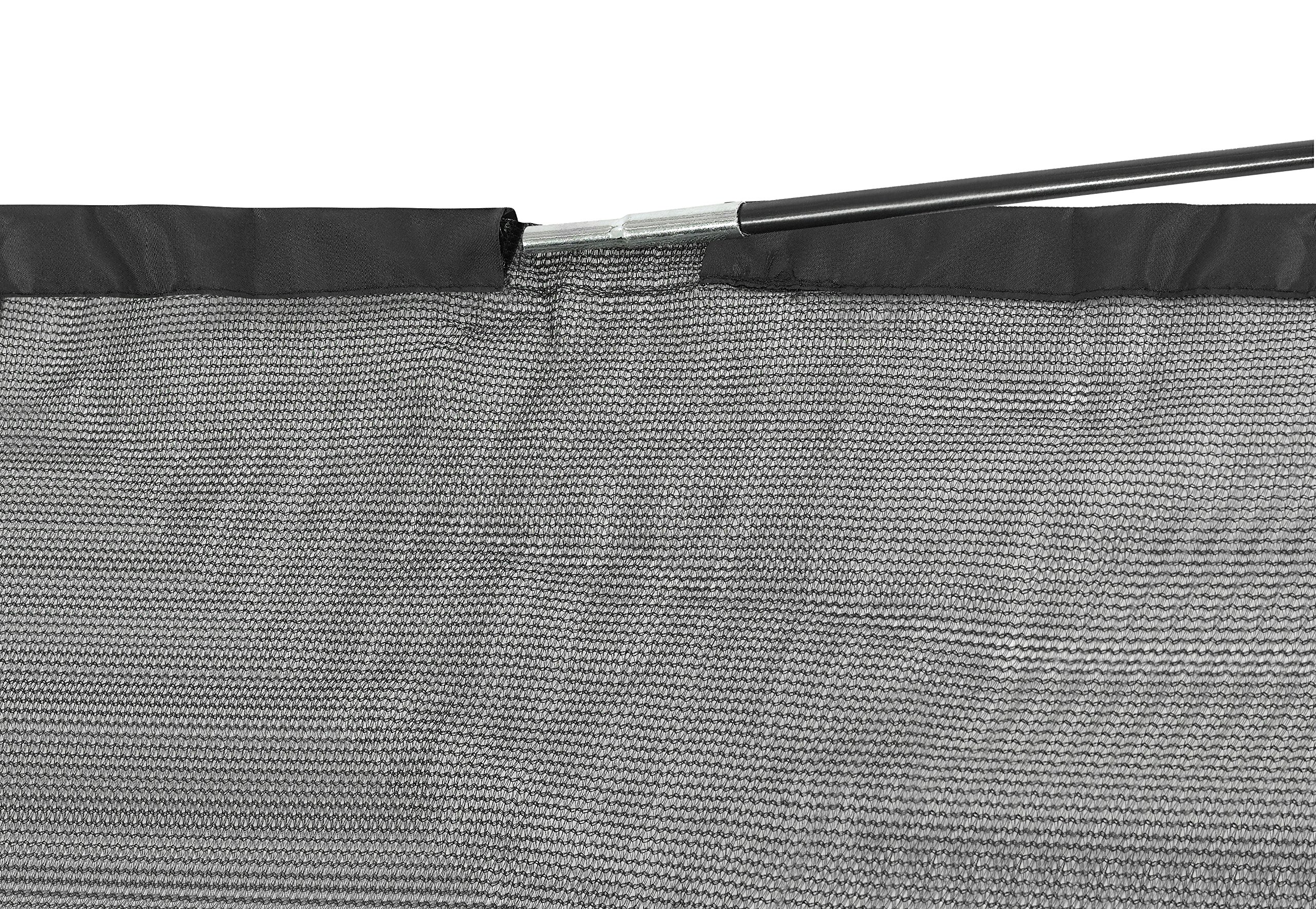 SKYTRIC Trampoline Enclosure Net (Universal) 15 ft Frame: 6 Curved Pole: with Top Ring Enclosure Systems -Sleeve on top Type- by SKYTRIC (Image #4)