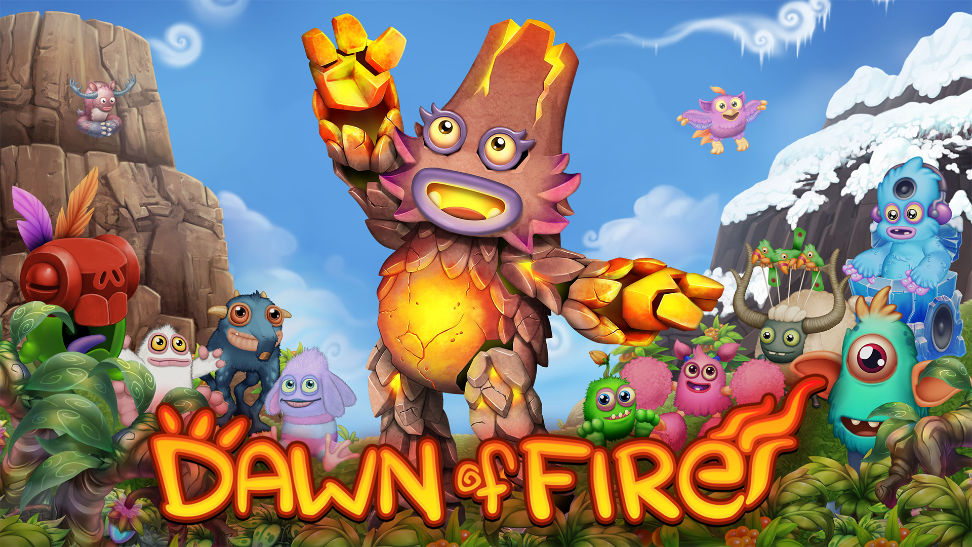 My Singing Monsters: Dawn of Fire for iOS - Free download