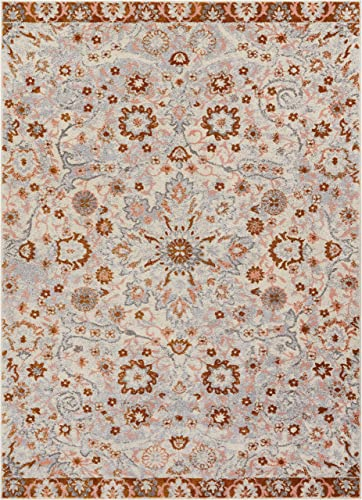 Well Woven Laurent Wonderly Modern Vintage Oriental Beige 7 10 x 9 10 Area Rug