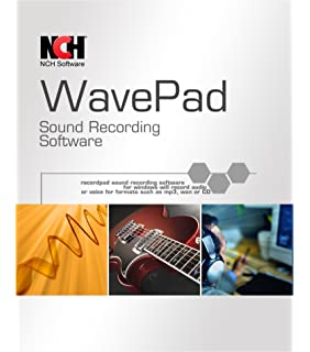 Amazon. Com: wavepad audio editing software professional audio.