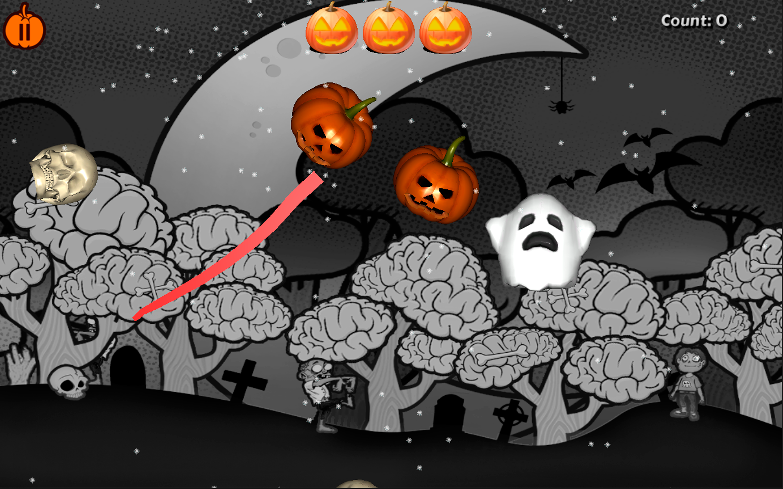 Halloween Pumpkin Slice Desktop [Download]