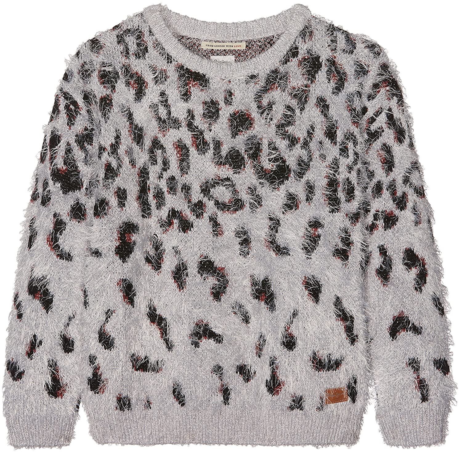 Pepe Jeans Girl's Jumper Grey Marl 14 Years PG700638
