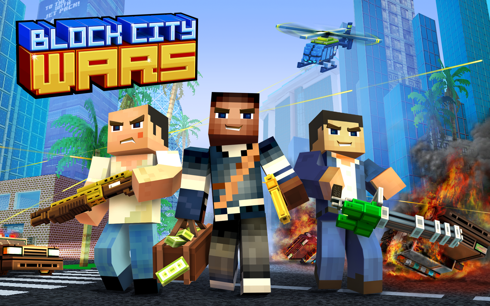Block City Wars Game Amp Skins Export To Minecraft Amazon