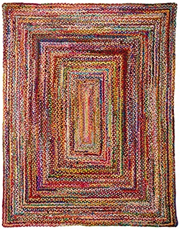 Casual Handmadeided Cotton Multi Area Rugs  Inches By