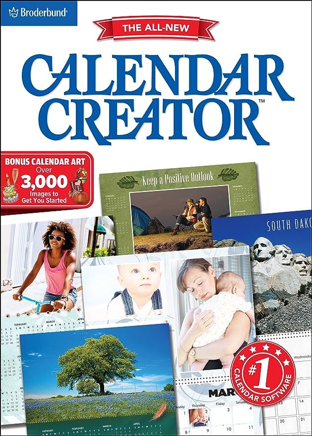 Amazon Com Calendar Creator For Windows Pc Download Software