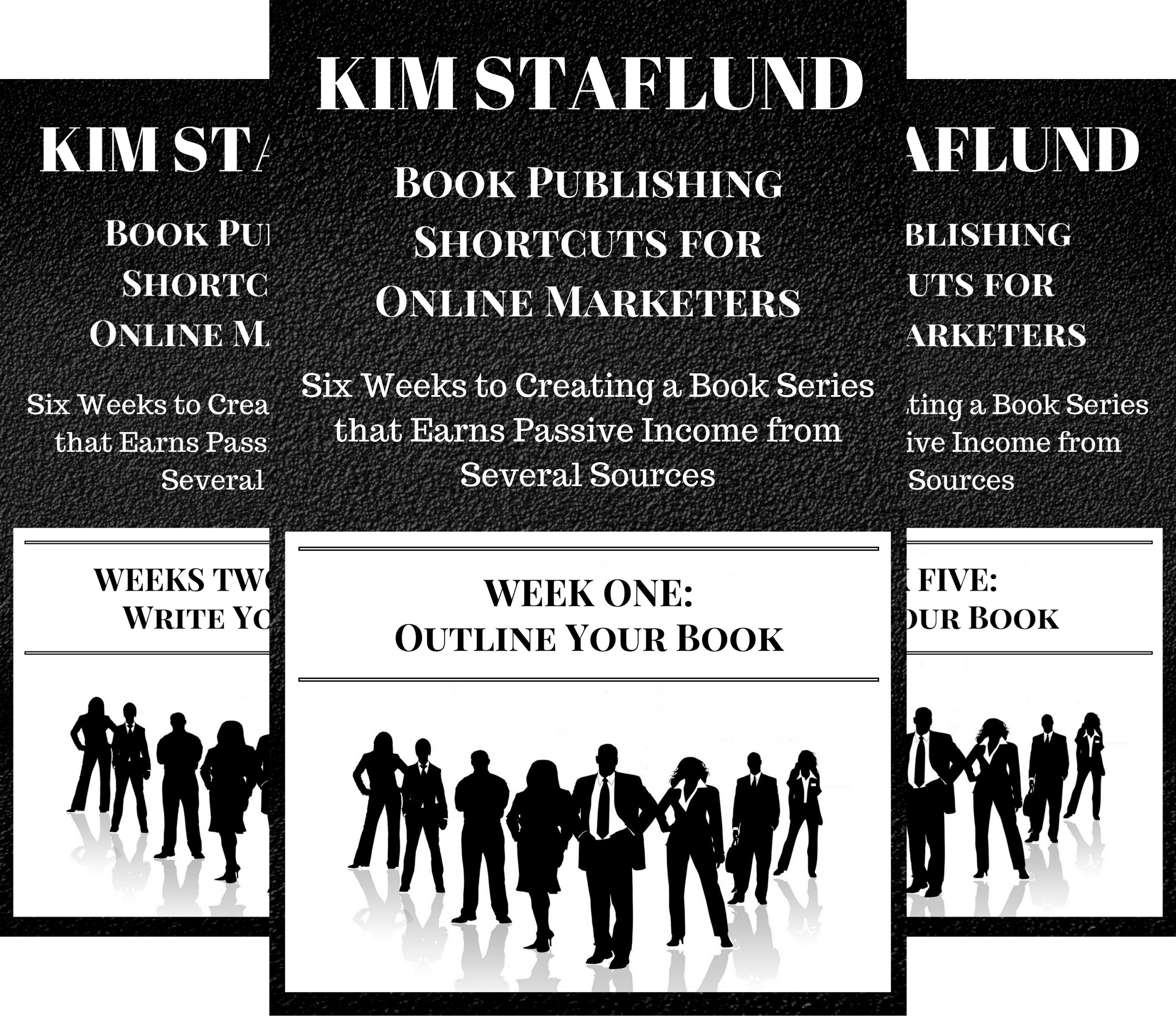 Book Publishing Shortcuts for Online Marketers (4 Book Series)