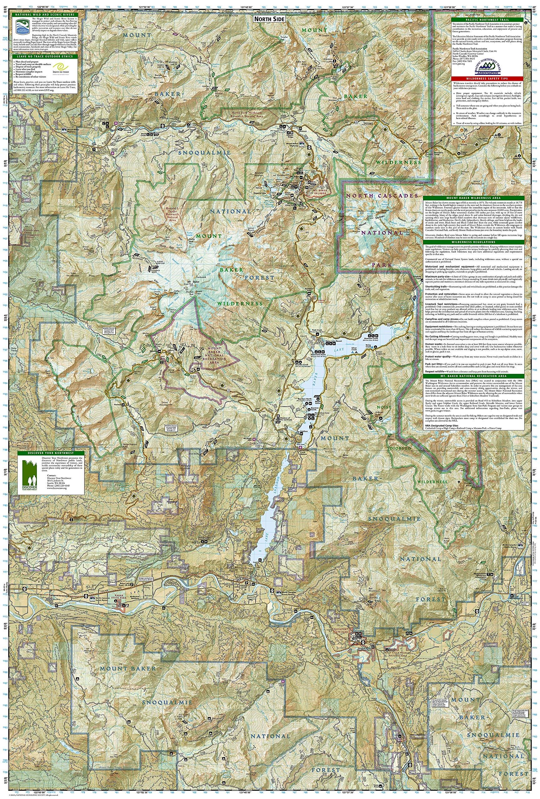 Mount Baker and Boulder River Wilderness Areas [Mt. Baker-Snoqualmie ...