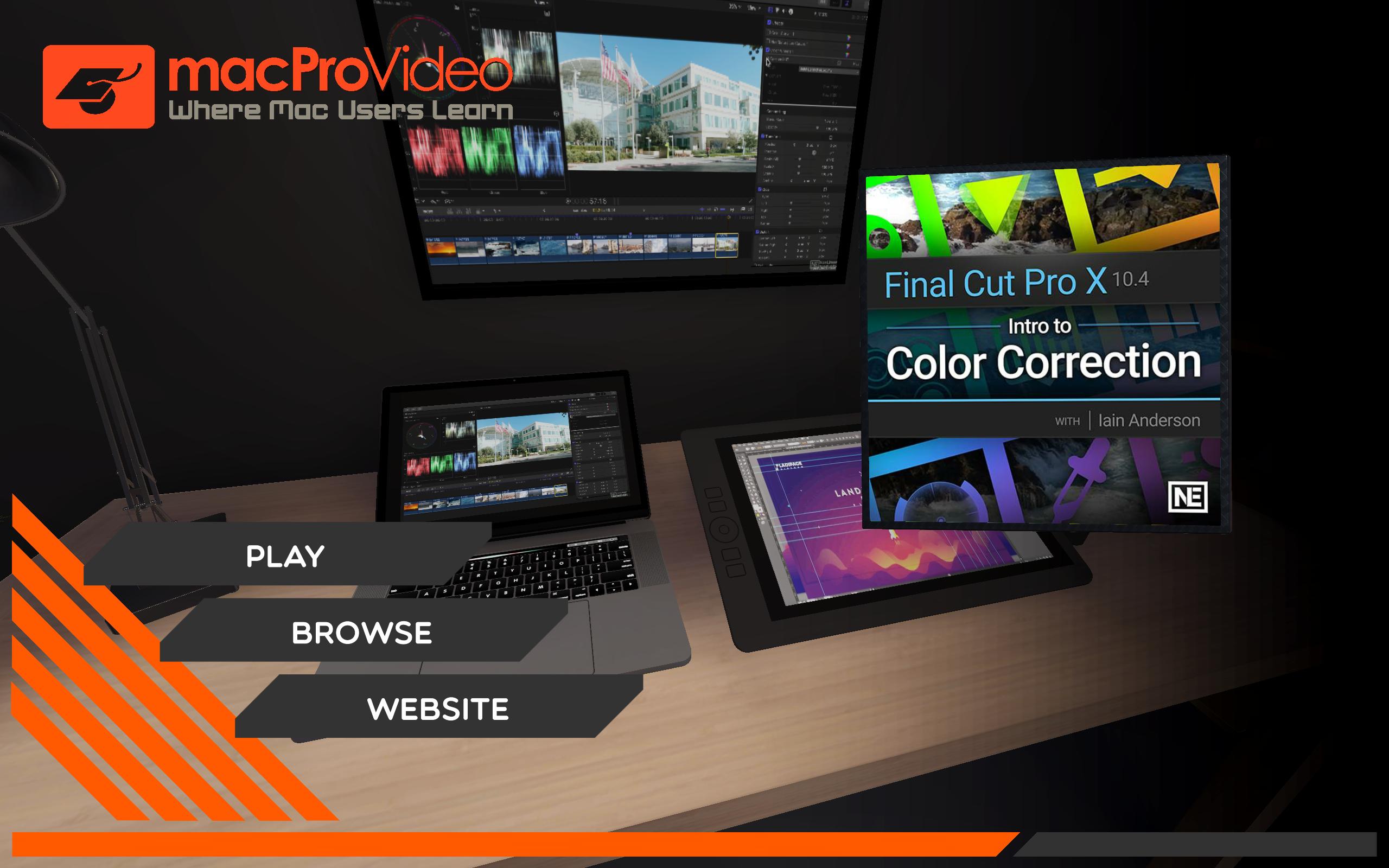 Final Cut Pro X 107 : Intro to Color Correction: Amazon ca