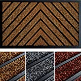 Extra Durable Door Mat 30x18 - Rubber Fall Doormat - Fall Door Mat Outdoor - Front Door Mat Outdoor - Back Door Mat - Indoor