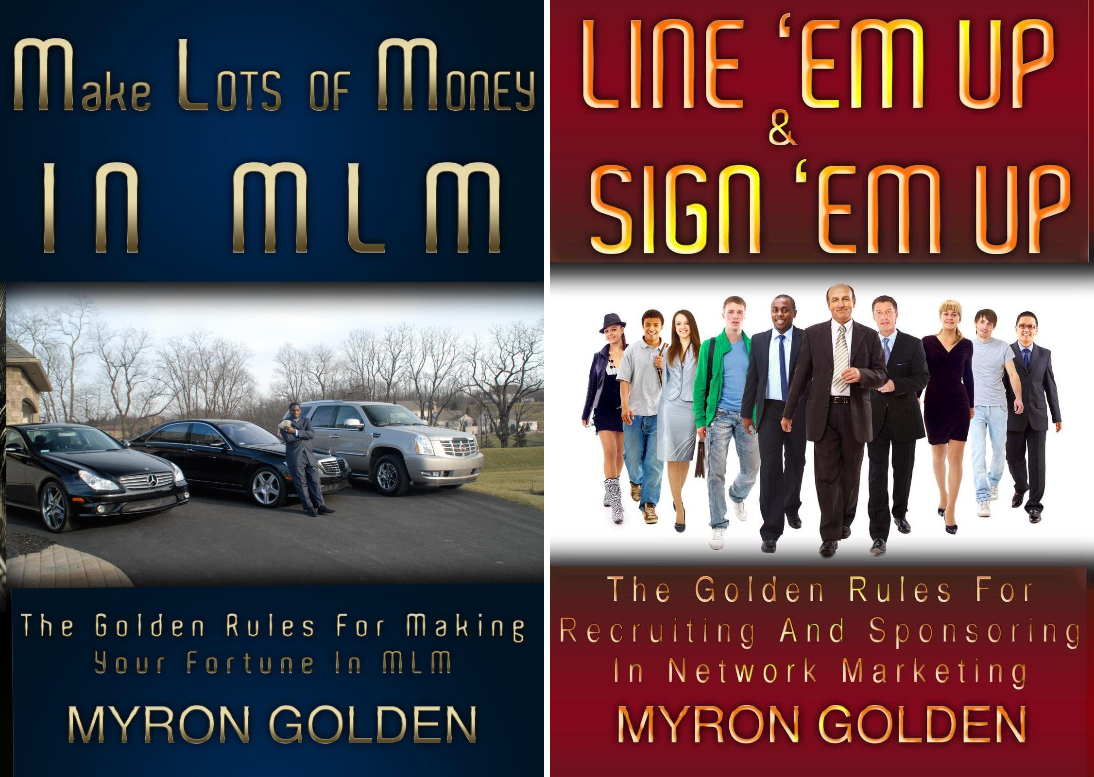 The Golden Rules For Making Your Fortune In MLM (2 Book Series)