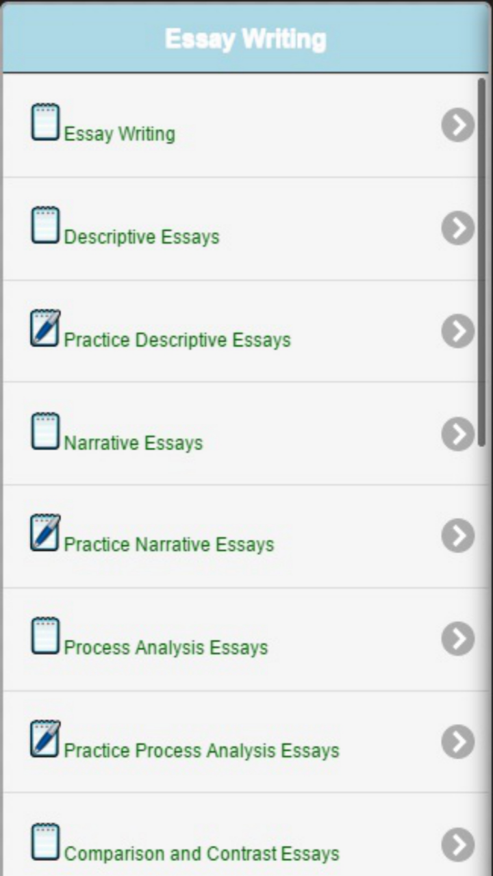 com essay writing essay topics appstore for android watch video