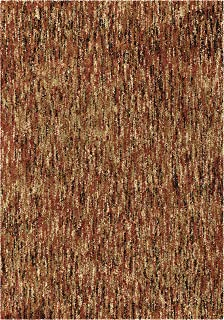 "product image for Orian Rugs Next Generation Multi-Solid Rouge Area Rug, 5'3"" x 7'6"", Red"