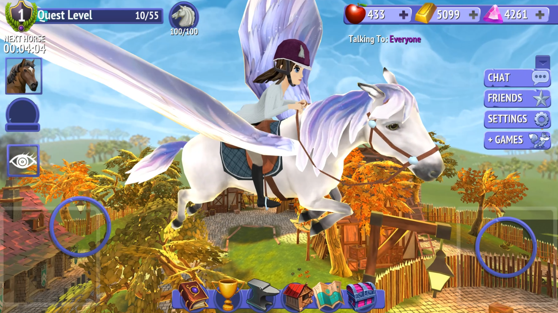 Amazon Com Horse Riding Tales Ride With Friends Appstore For