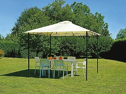 Greenwood Muebles Jardín gaz362 Carpa Hierro Carpa Cuadrado 3 x 3 MT.: Amazon.es: Jardín