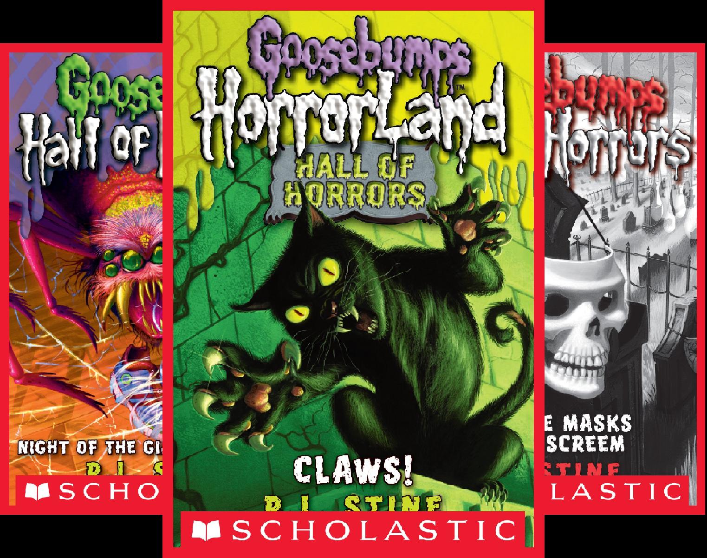 Goosebumps Hall of Horrors (6 Book Series)