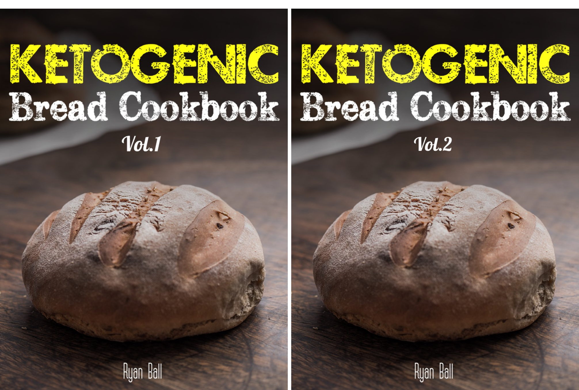 Ketogenic Diet, Paleo Diet, Low Carb Cookbook, Gluten Free, Weight Loss (2 Book Series)