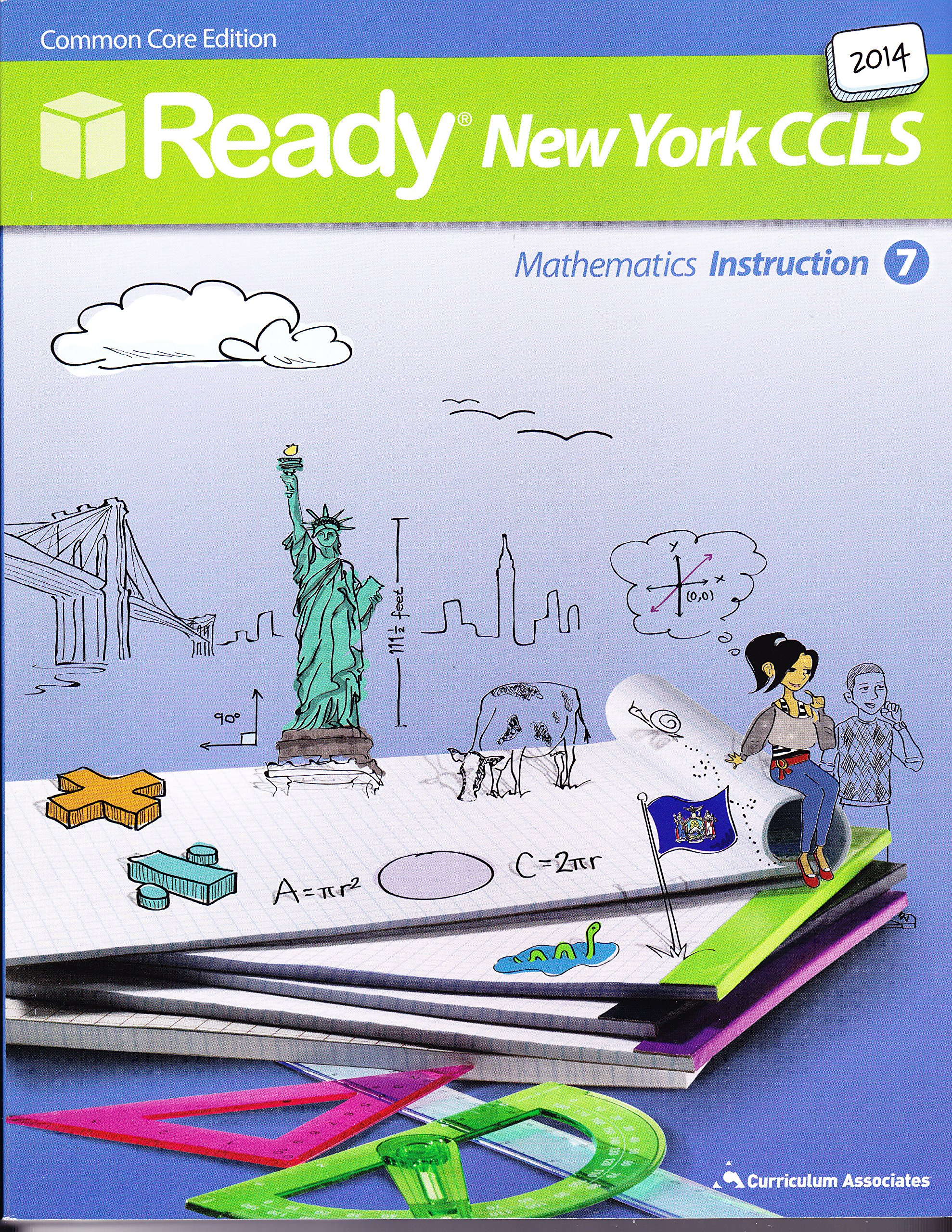 Download 2014 Ready New York CCLS Common Core math Instruction Grade 7 (Ready) pdf