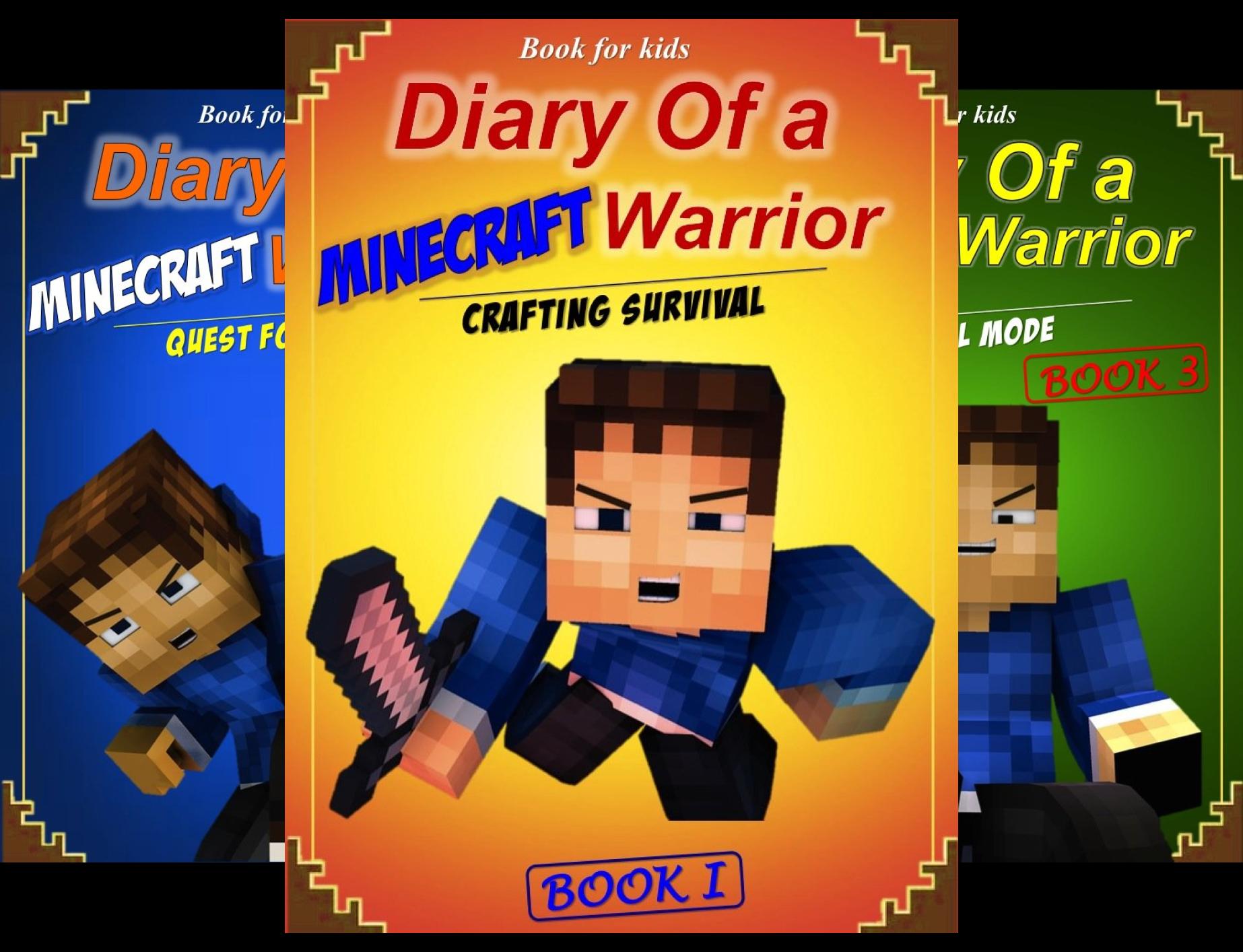 Minecraft Warrior (8 Book Series)