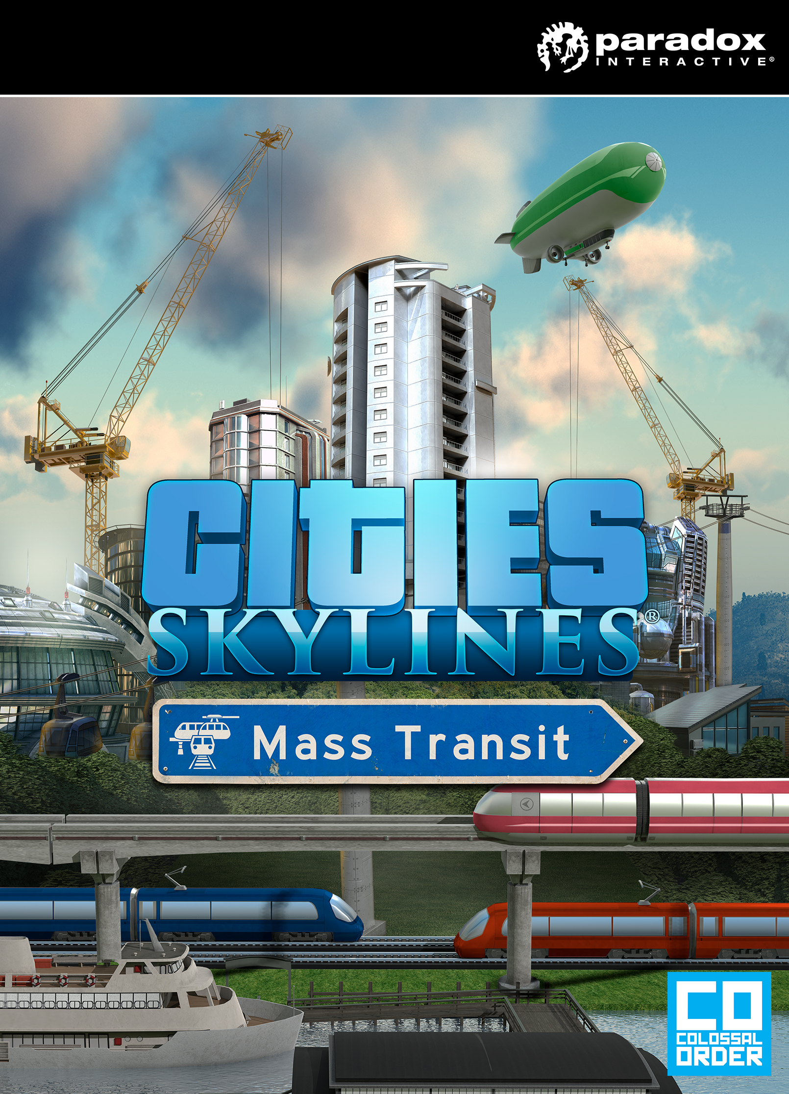Cities Skylines: Mass Transit [Online Game Code]