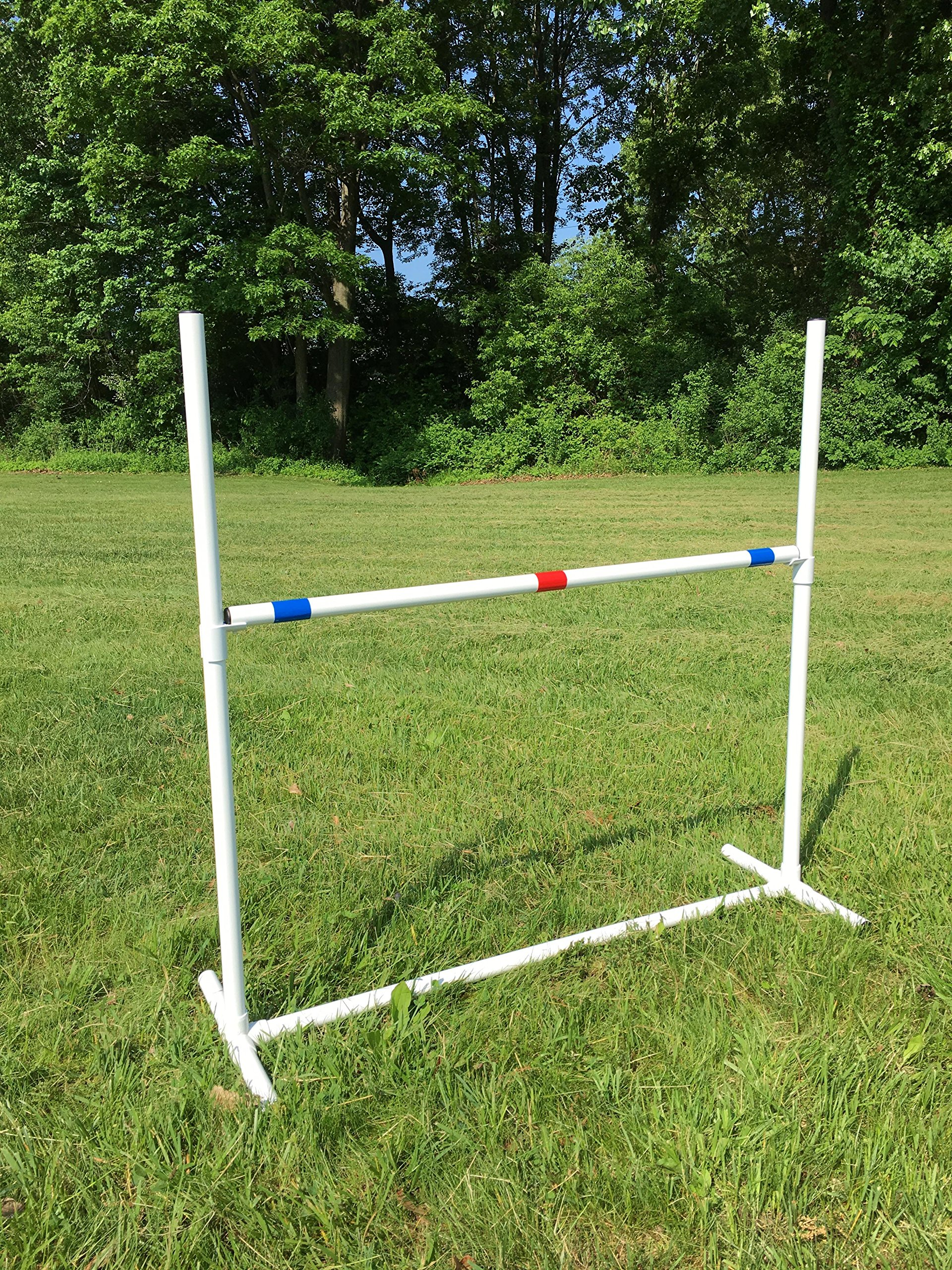 Dog Agility Equipment Single Bar Jumps | Set of 2 jumps by Dog Agility Shop, LLC (Image #2)