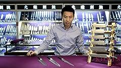 Amazon Com Shun Vg0008 Blue Steel 10 Inch Kiritsuke Knife