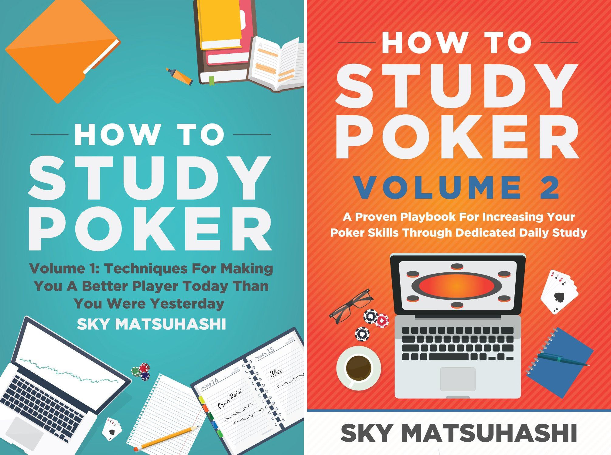How to Study Poker (2 Book Series)