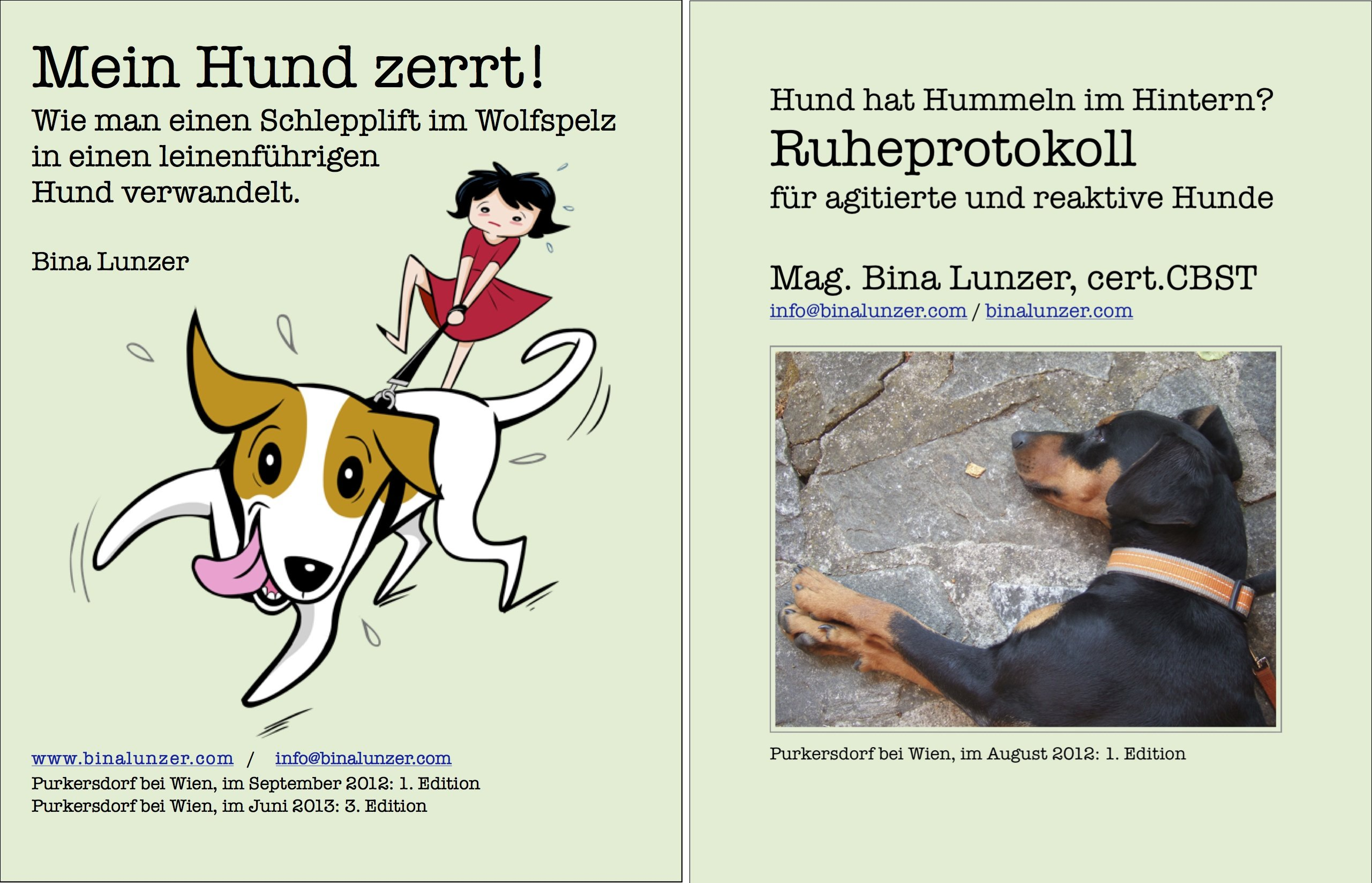 Hilfe! Mein Hund... (Reihe in 2 Bänden)