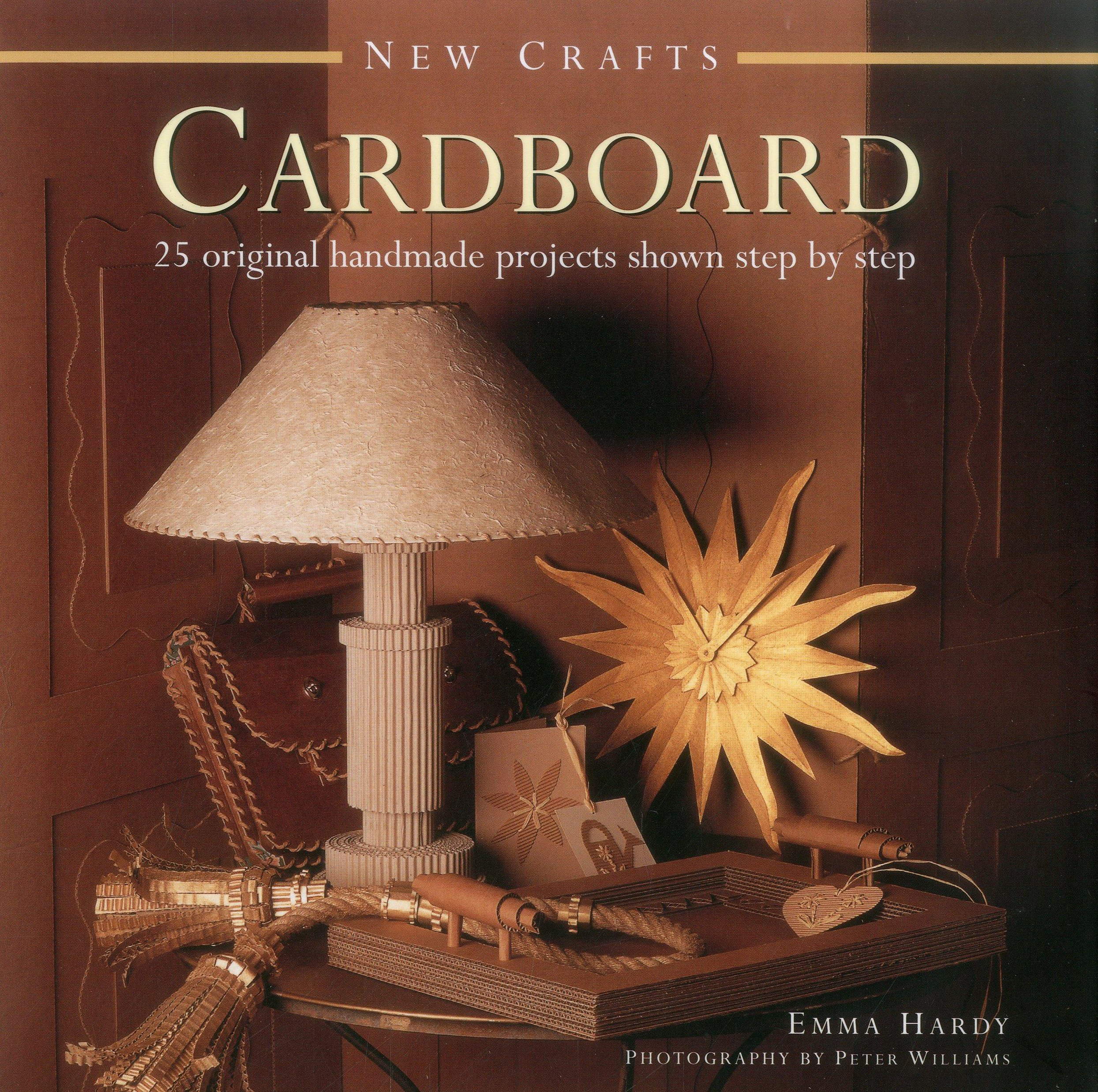 Original crafts from cardboard