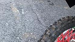 Spoke Sleeves Red for Honda CRF230F 2012-2017