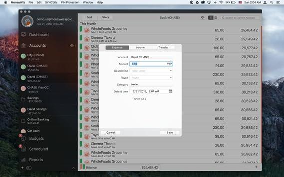 Amazon com: MoneyWiz 2 - Personal Finance for Mac [Online Code