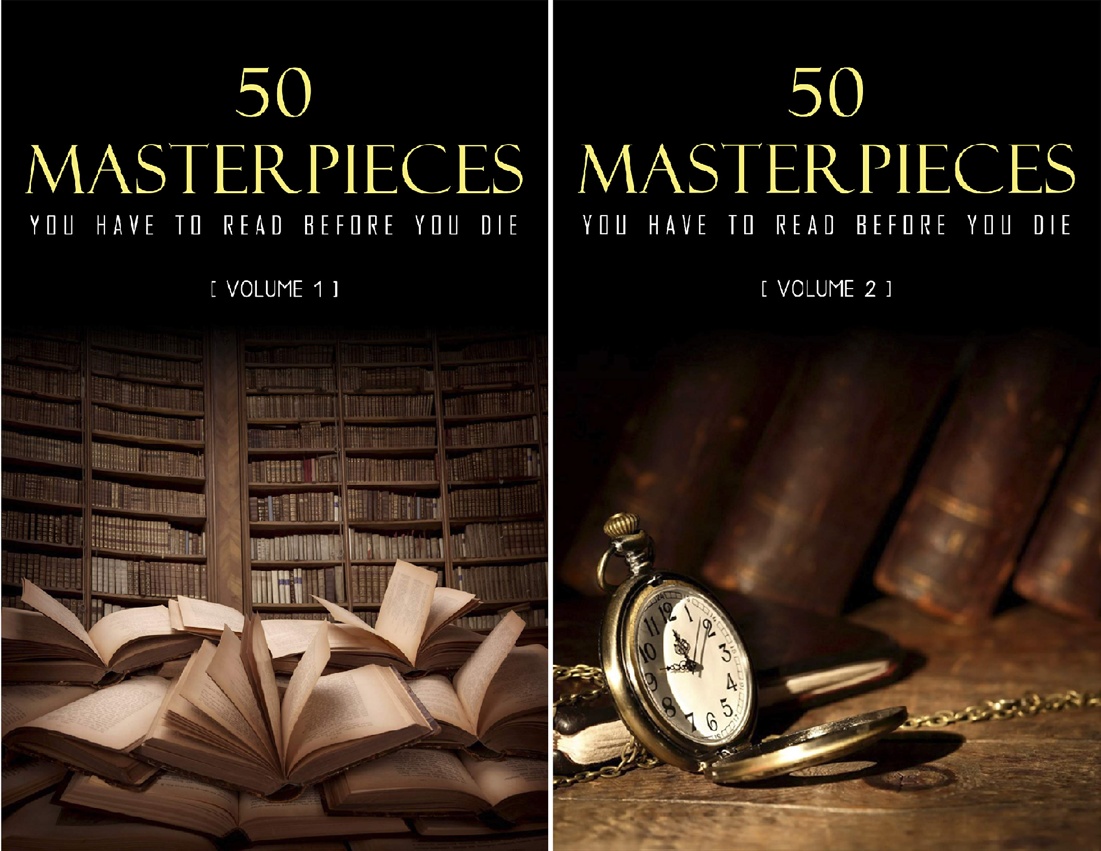 50 Masterpieces you have to read before you die50