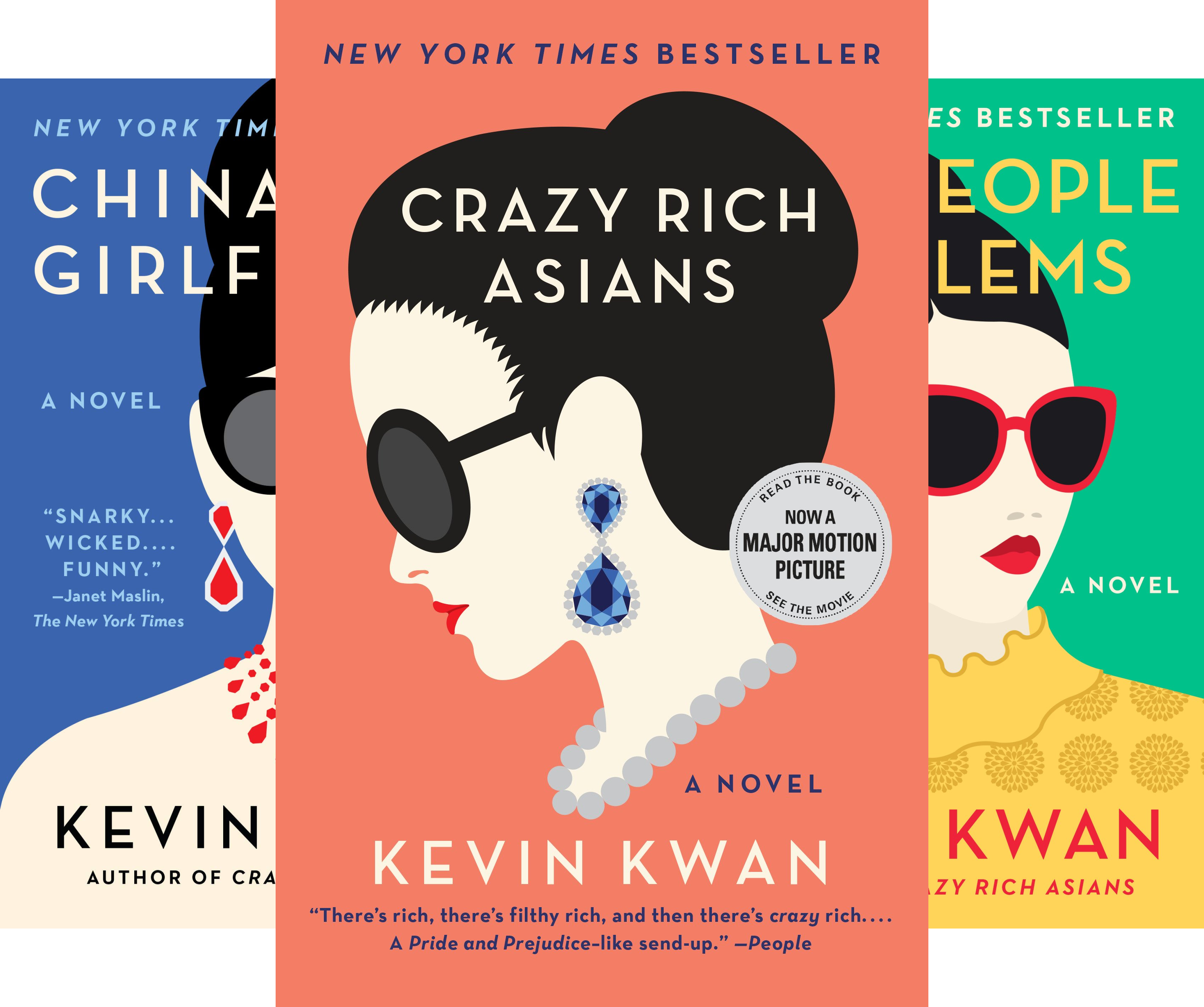 Crazy Rich Asians Trilogy (3 Book Series)