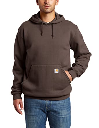 bfd31f349 Carhartt Men's Midweight Hooded Sweatshirt at Amazon Men's Clothing ...